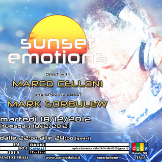 SUNSET EMOTIONS 014.4 (18/12/2012) - Special Guest MARK GORBULEW