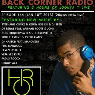 BACK CORNER RADIO: Episode #44 (Jan 10th 2013)
