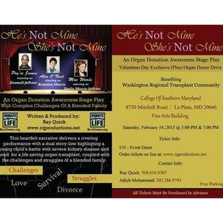 """He's Not Mine, She's Not Mine""Stage Play /"