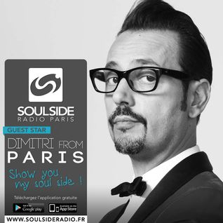 SOULSIDE RADIO EXCLUSIVE GUEST SESSION - DIMITRI FROM PARIS LIVE 2015