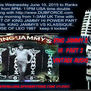 DJ EMPRESS ANJAHLA WITH THE BEST OF KING JAMMY STUDIO ONE VINTAGE SOUND AUDIO BROADCAST JUNE 10 2015