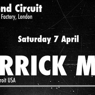Derrick May (Transmat) @ Weekend Circuit 1st Birthday Party, Rhythm Factory - London (07.04.2012)