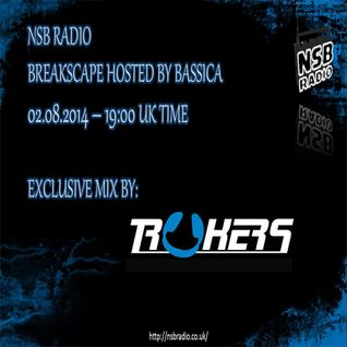 Bassica Presents BREAKSCAPE on NSB - Trukers Guestmix