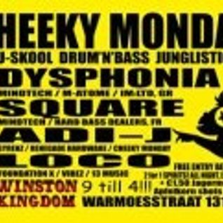 SQUARE (MINDTECH / HARD BASS DEALERS, FR) 18 - 02 - 2013 CHEEKY MONDAY
