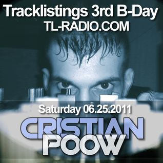 Cristian Poow @ Tracklistings 3rd B-Day 06-25-2011