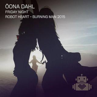 Oona Dahl - Robot Heart - Burning Man 2015