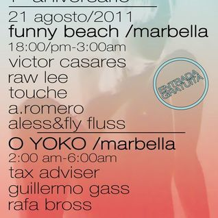 "Raw Lee @ ""Ghetto Talk"" ... from 1ºaniversario ""FRESHMEAT""(Agosto 2011 Marbella, Malaga/SPAIN)"