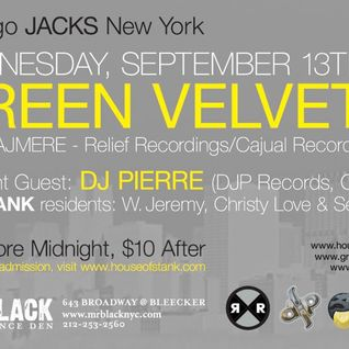 "DJ Pierre & Green Velvet at ""Afro Acid The Chicago Sessions"" @ Mr Black (New York-USA) - 13-09-2006"