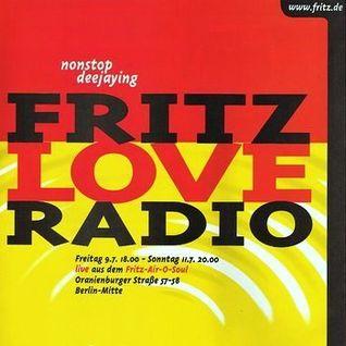 Paul van Dyk @ Fritz Loveradio /// 09.07.2003 /// Radio Fritz