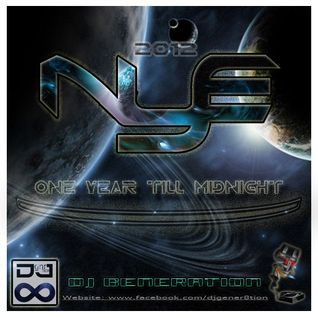 DJ Generation - NYE 2012 (One Year Before Midnight) Mix Disc Set