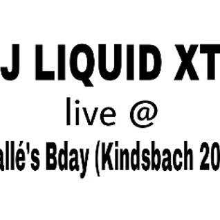 Dj Liquid XTC live @ Walle´s Bday 2014