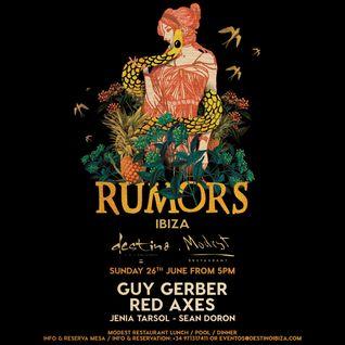 Guy Gerber - live at Rumors (Ibiza) - 26-Jun-2016
