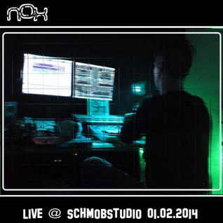 Nox - Live @ Schmob Studio [01.02.2014]