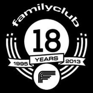 Luis MF & Raul Parra @ Family Club 18 Aniversario opening 02.11.2013