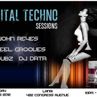 Capital Techno Sessions LIVE at Lanai ATX (1/29/12)
