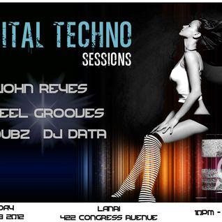 Capital Techno Sessions LIVE at Lanai ATX (1/29/12)