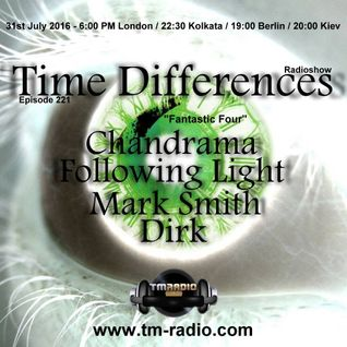 Following Light Time Defferences 221 (31 Jule)