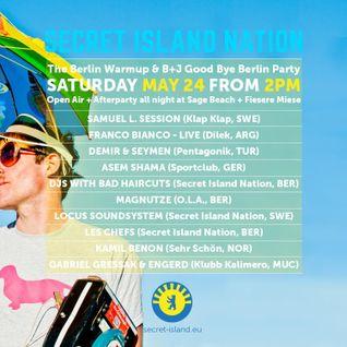 "Magnutze @ Secret Island Nation ""The Berlin Warmup"", Fiesere Miese ""Keller"" (2014-05-24)"