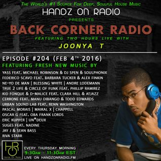 BACK CORNER RADIO: Episode #204 (Feb 4th 2016)