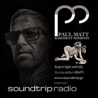 Basement Session 001 live on Soundtrip Radio Greece 23/10/16