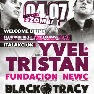 2012.04.07.NewC Live @ NWCC Pres. Yvel&Tristan, Black Tracy