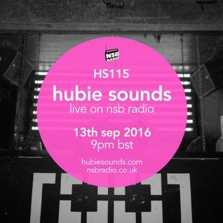 Hubie Sounds 115 - 13th Sep 2016