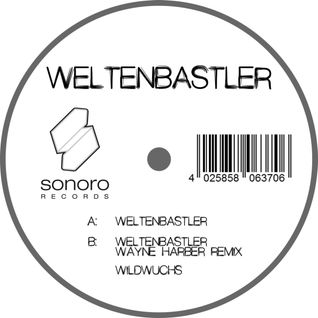 Weltenbastler by Bettina Striegl (Vinyl + Digitalrelease)