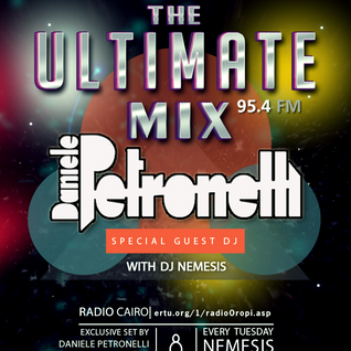 Nemesis - The Ultimate Mix Radio Show (046) 08/12/2015 (Guest Daniele Petronelli)