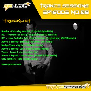 SJE Music Trance Sessions #8 (TS#8)