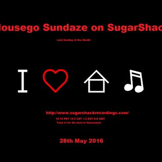 Housego - SugarShack Radio 31/07/2016