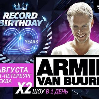 Armin van Buuren - Live @ 20th Birthday, Vozduh Club (St. Petersburg) - 15.08.2015