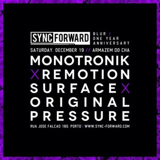 Remotion @ Sync Forward Blur, Armazem do Cha [19.12.2015]