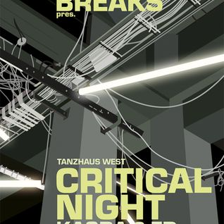 Redraven warmup - 2 - URBAN BREAKS pres.CRITICAL NIGHT feat. KASRA & FD, Tanzhaus West