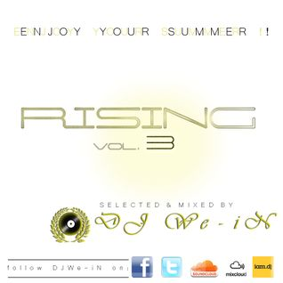 RISING vol.3 SELECTED&MIX BY DJ We-iN