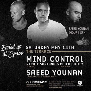 Saeed Younan Live at Club Space Miami. pt 1