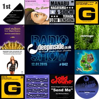 DEEPINSIDE RADIO SHOW 042 (Cool Million Artists of the week)