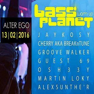 Guest69 @ Bass Planet 2016 Warm Up, Szczecin, Alter Ego (13.02.2016)
