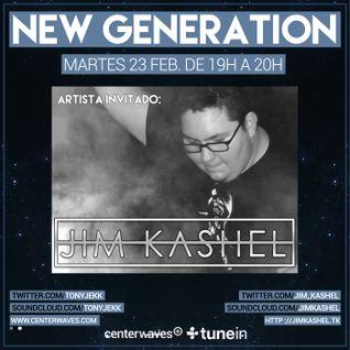 Jim Kashel @ New Generation (23/02/2016) www.centerwaves.com