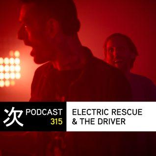Tsugi Podcast 315 x Astropolis : Electric Rescue & The Driver