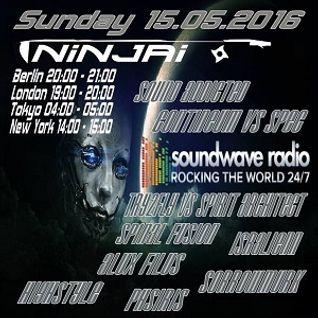 Podcast for Soundwave Radio rocking the World 24/7 >>> mixed by Ninjai 15.5.2016