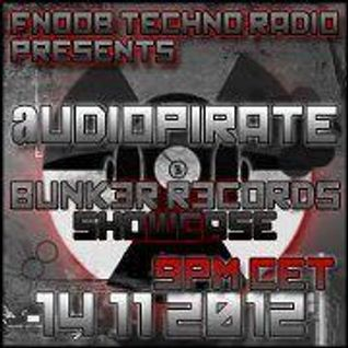 BUNK3R R3CORDS SHOW with audiopirate 14.11.12 recorded for Fnoob techno radio