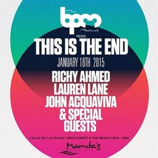 ART DEPARTMENT, THE END @MAMITAS BPM 2015