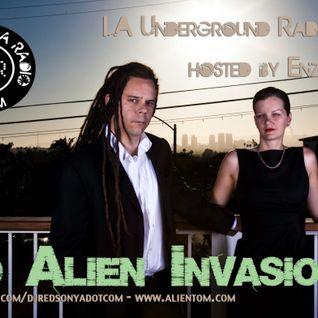 LA Underground Radio Show w/ RED ALIEN INVASION (LA) hosted by Enzo Muro