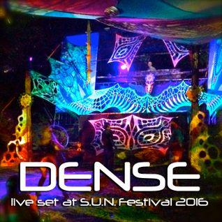 DENSE - live set at S.U.N. Festival 2016, Hungary