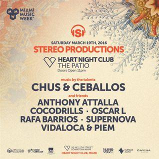 Chus & Ceballos - Live at Heart Nightclub, MMW, Miami (19-03-2016)