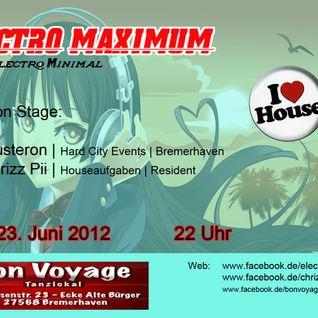 Dj Chrizz Pii live @ Electro Maximum, Bon Voyage Bremerhaven