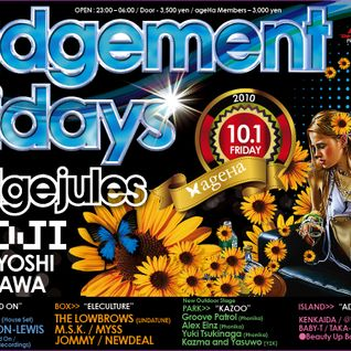 ageha BTB Mix (Judgement Fridays 2010.10.01.Friday)