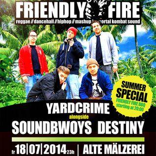 FriendlyFire Summerspecial LIVE-JUGGLING PROMOTAPE (18|07|2014 @Alte Mälzerei)