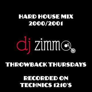DJ Zimmo - Hard House Vinyl Mix (2000)
