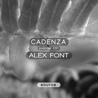 Cadenza Podcast | 231 - Alex Font (Source)